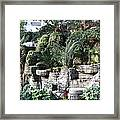 Lovely View Inside The Opryland Hotel In Nashville Tennessee 2009 Framed Print