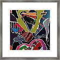 Love's It Framed Print by Kenneth James