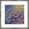 Loving Eye - 1 Framed Print