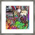 Lucha Toys Framed Print