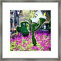 Lumiere And Chip Framed Print
