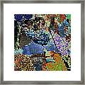 Luve In Blurr Until Slowed Down To Share Framed Print