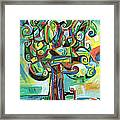 Lyrical Tree Framed Print