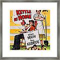 Ma And Pa Kettle At Home, Us Poster Framed Print