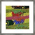 Maasai Beadwork Framed Print