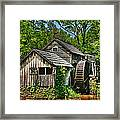 Mabry Mill Framed Print by Heather Allen
