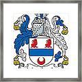 Macardle Coat Of Arms Irish Framed Print