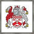 Macbride Coat Of Arms Irish Framed Print