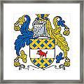 Maccann Coat Of Arms Irish Framed Print