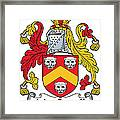 Maccarvill Coat Of Arms Irish Framed Print