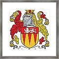 Maccashin Coat Of Arms Irish Framed Print