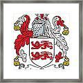 Macclancy Coat Of Arms Irish Framed Print