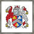 Macclintock Coat Of Arms Irish Framed Print