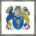 Maccoglan Coat Of Arms Irish Framed Print