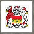 Macconaghy Coat Of Arms Irish Framed Print