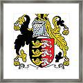 Macconsidine Coat Of Arms Irish Framed Print