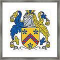 Maccusker Coat Of Arms Irish Framed Print