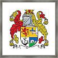 Macdonnell Coat Of Arms Of The Glens Framed Print