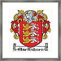 Macfadyen Coat Of Arms I Irish Framed Print