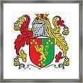 Macgaynor Coat Of Arms Irish Framed Print