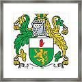 Macgenis Coat Of Arms Irish Framed Print