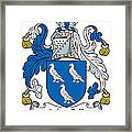 Macgill Coat Of Arms Ulster Ireland Framed Print