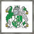 Macgogarty Coat Of Arms Irish Framed Print