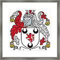 Macgrane Coat Of Arms Irish Framed Print
