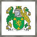 Macgrannell Coat Of Arms Irish Framed Print