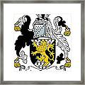 Macgratton Coat Of Arms Irish Framed Print
