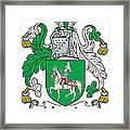 Macguire Coat Of Arms Irish Framed Print