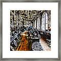 Machinist - Precision Matters Framed Print by Paul Ward