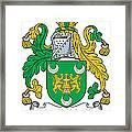 Mackillikelly Coat Of Arms Irish Framed Print
