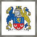Maclochlin Coat Of Arms Irish Framed Print