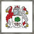 Macluskie Coat Of Arms Irish Framed Print