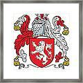 Macmorogh Coat Of Arms Irish Framed Print