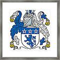 Macmurray Coat Of Arms Irish Framed Print