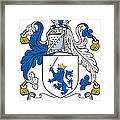 Macrery Coat Of Arms Irish Framed Print