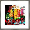 Macro Sun International Framed Print
