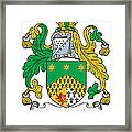 Macshanley Coat Of Arms Irish Framed Print