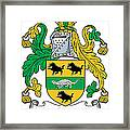 Macsweeney Coat Of Arms Irish Framed Print