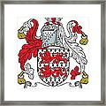 Mactiernan Coat Of Arms Irish Framed Print