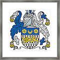 Macveagh Coat Of Arms Irish Framed Print