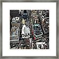 Macy's From Above Framed Print