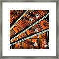 Mad For Mahjong Framed Print