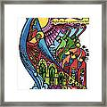 33 - Madonna And Child In Sharpie Framed Print