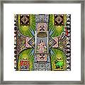 Madonna Of Valladolid Mexico Framed Print
