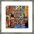 Madrid Lookers 2 Framed Print by Cary Shapiro