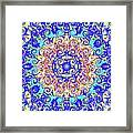 Magic Carpet Ride Blue Framed Print