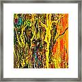 Magic Forest 2 Framed Print by Michelle Dommer